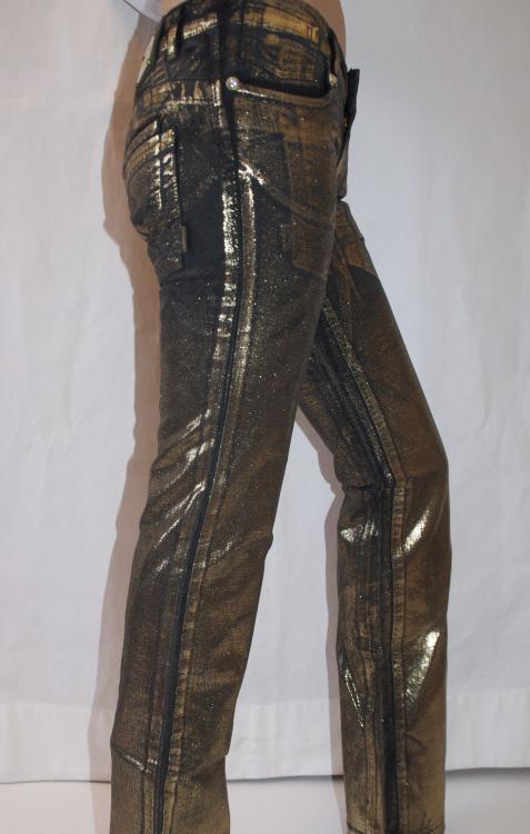 золотые джинсы с доставкой